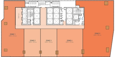 Middle Zone Floor Plan (Multi-Tenant)