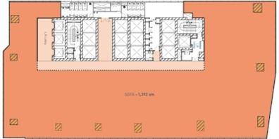 Middle Zone Floor Plan (Single Tenant)